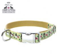 DOG COLLAR - HULA GIRLS LIME